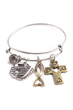 Ark Charmed Wired Bracelet