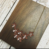 Flower Chain Necklace