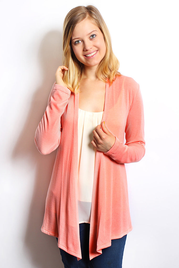 Open Sweater Cardigan
