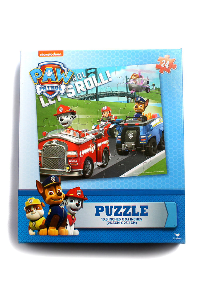 Paw Patrol Let's Roll Puzzle Pack