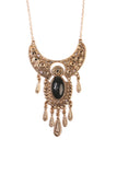 Long Bohemain Statement Necklace