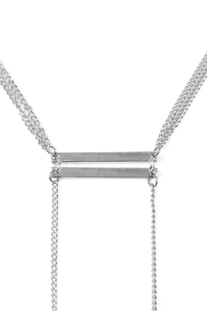 Lariat Pendant Chain Necklace