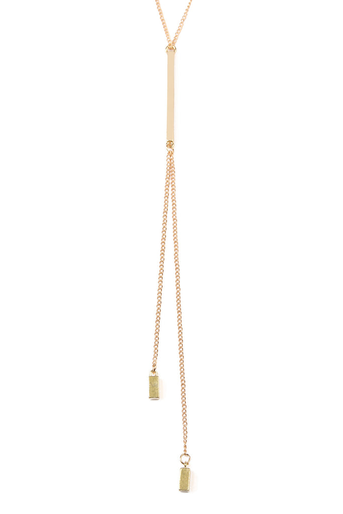 Y Chain Long Necklace