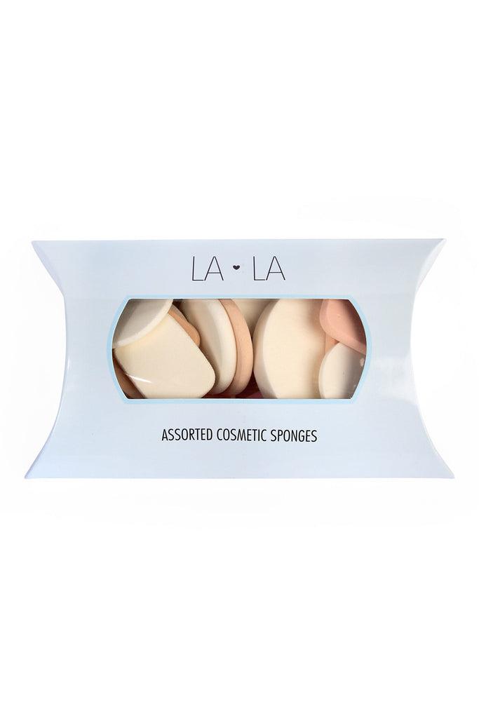 LA LA Assorted Cosmetic Sponges