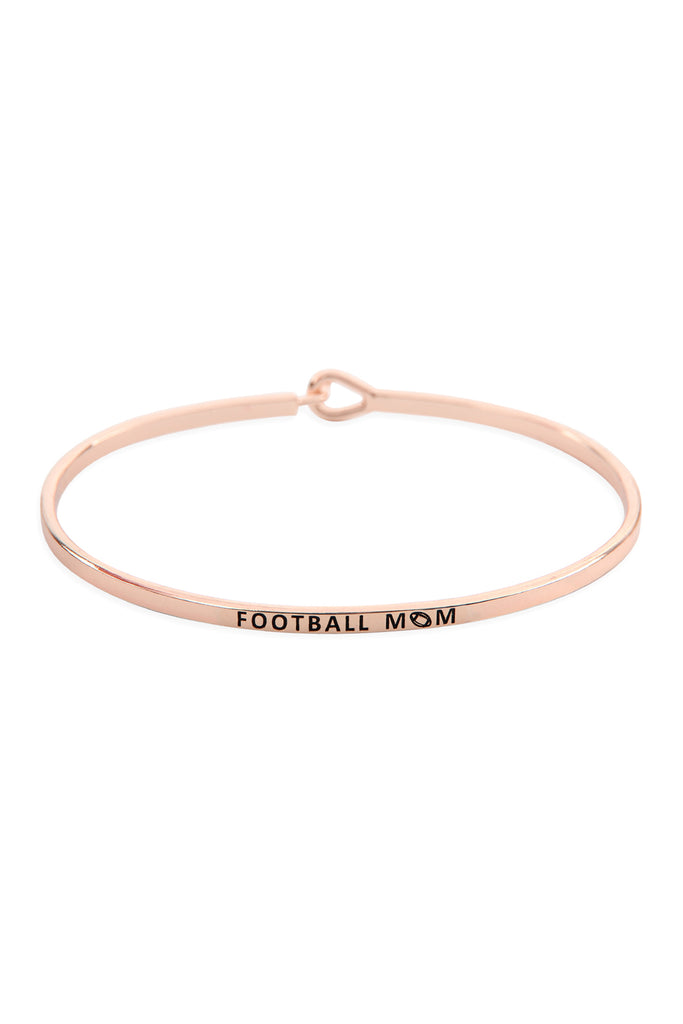 "B4483 - ""FOOTBALL MOM"" FASHION BANGLE"
