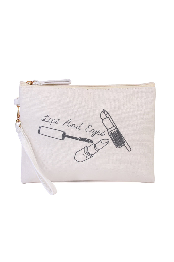 Printed Wristlet Pouch