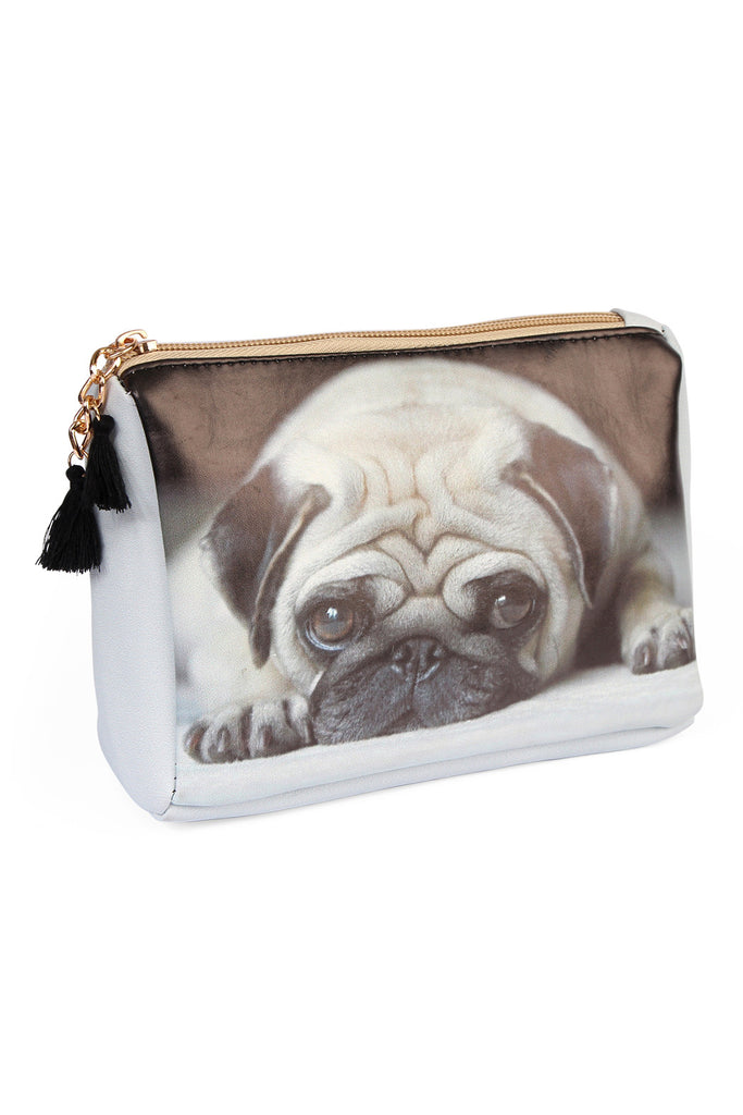 Puppy Print Cosmetic Pouch