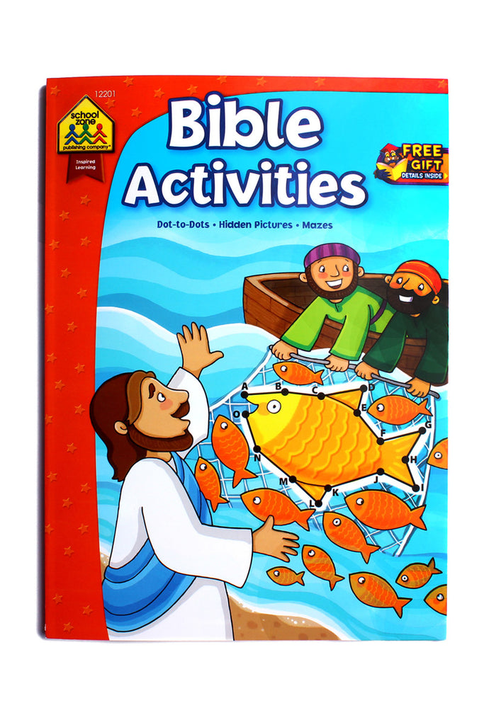 Bible Activities Book