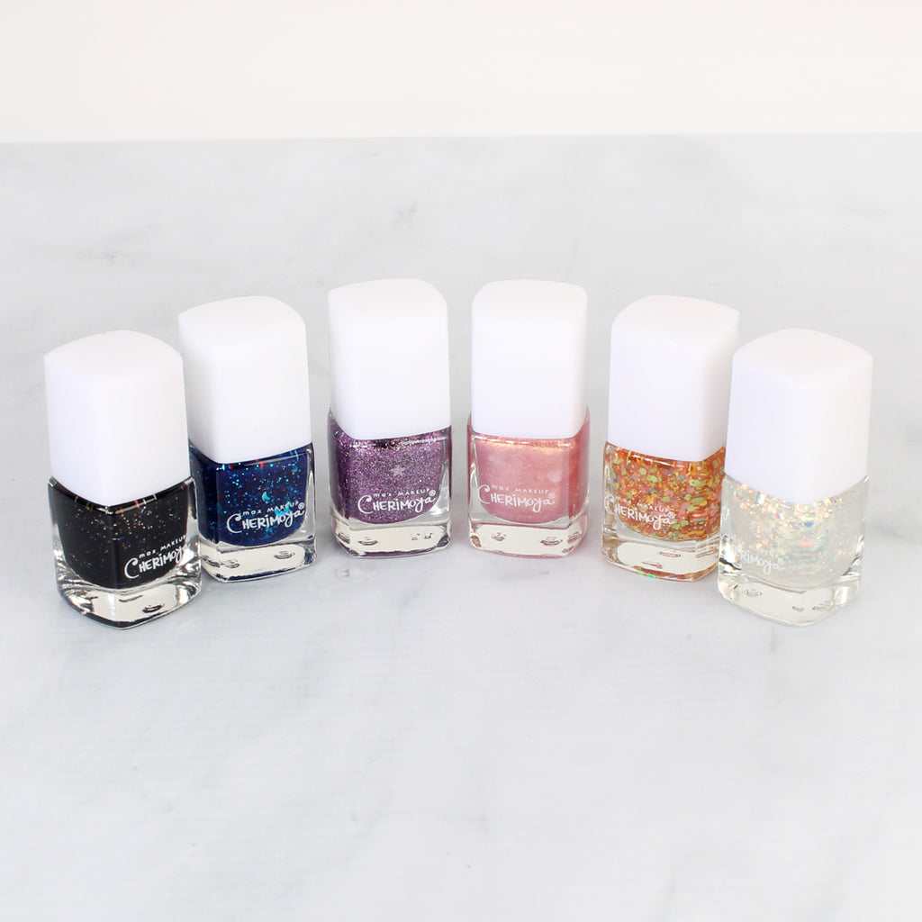 Unicorn Glitter Nail Polish Set