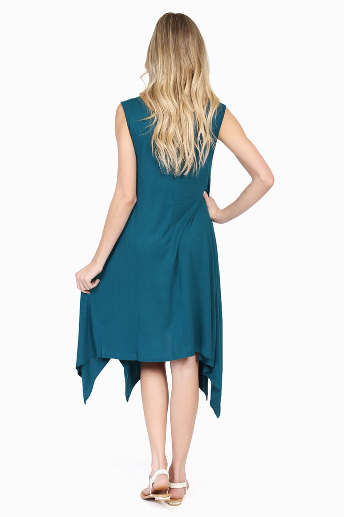 High-Low Sleeveless Dress