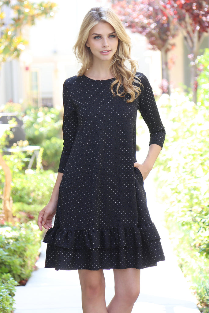 Polka Dot Pocket Dress