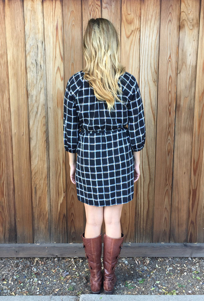 Plaid Tunic Dress