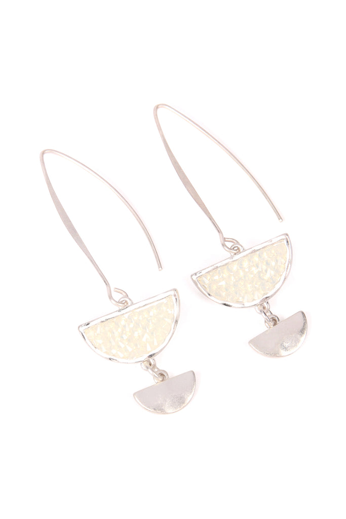 Sparkly Stone Drop Earrings