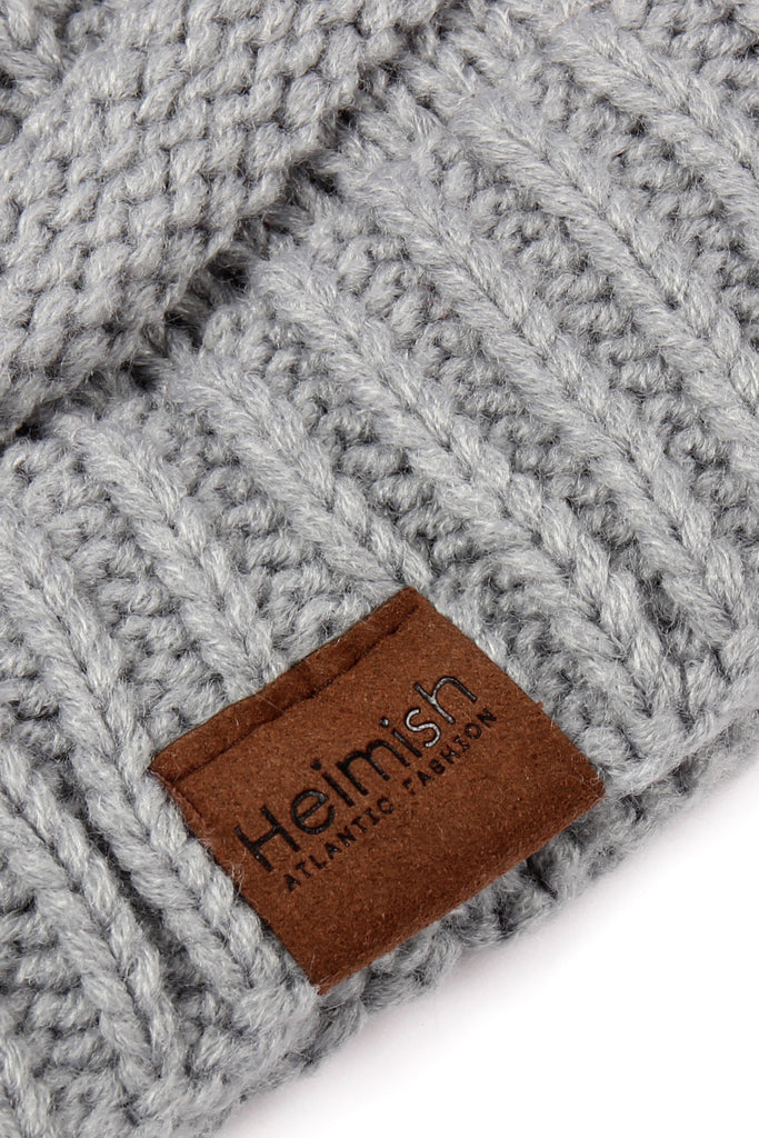 Knitted Soft Stretch Ponytail Beanie
