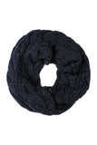 Knitted Braid Infinity Scarf