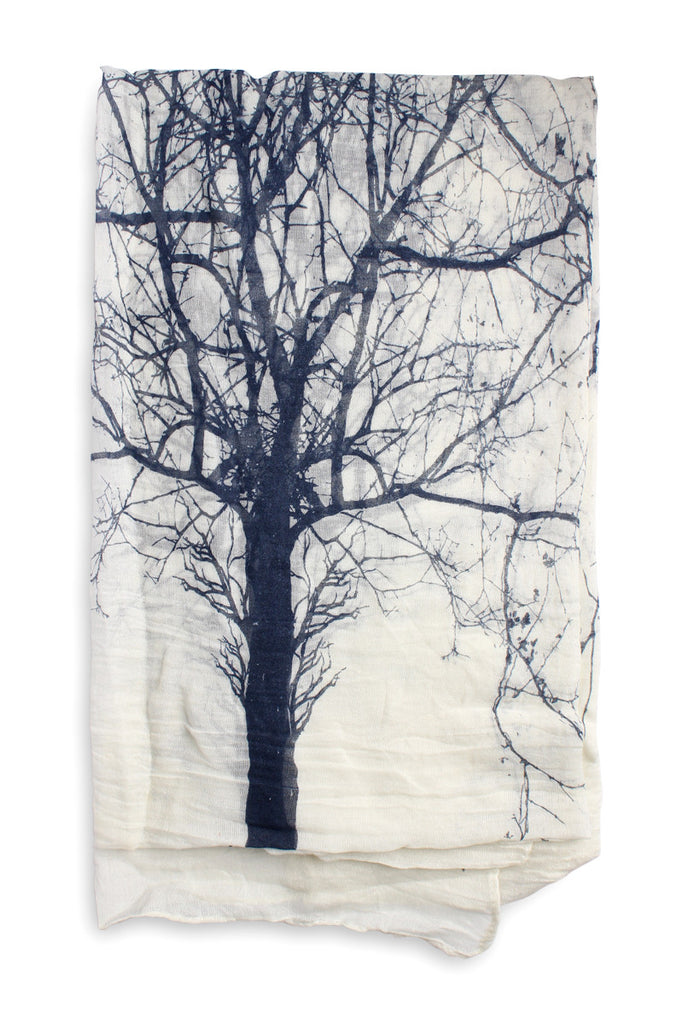 Tree Of Life Oblong Scarf