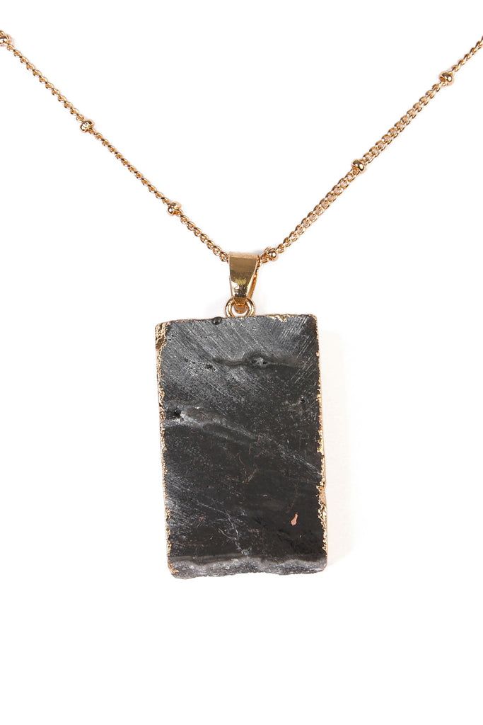 Ombre Druzy Stone Necklace