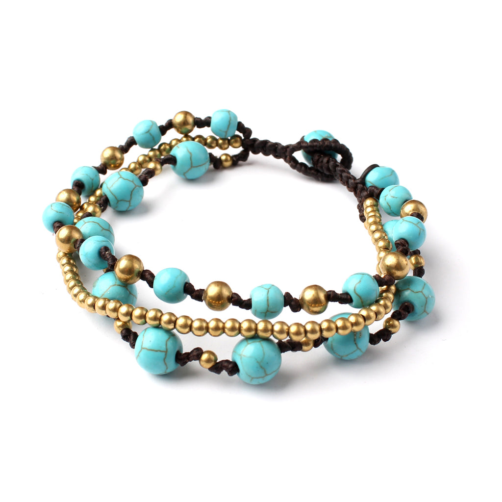 Over Layered Bead Bracelet