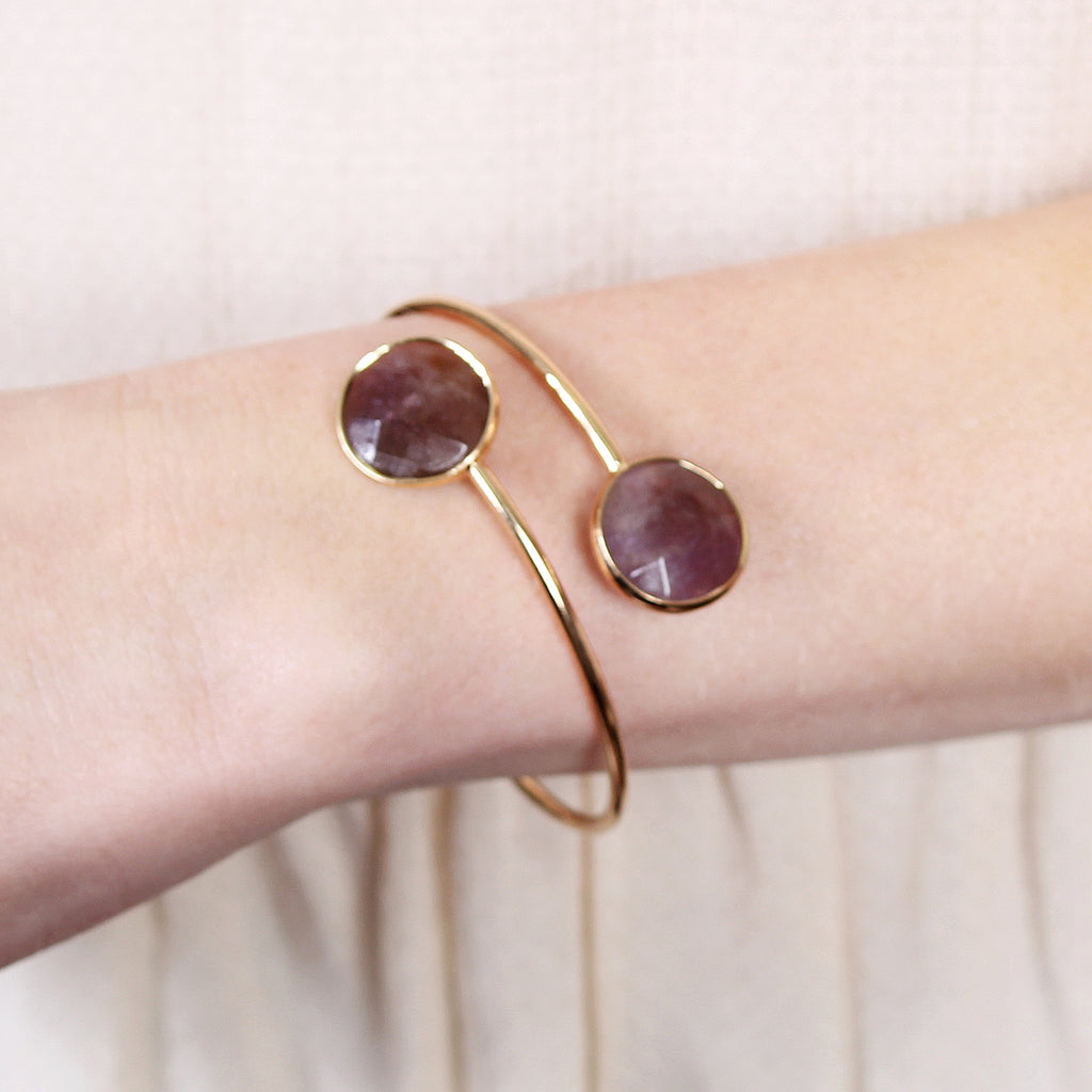 Adjustable Dual Circle Bracelet