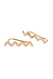 Chevron Threader Earrings