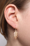 Petite Leaf Earrings