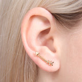 Arrow Crawler Earrings