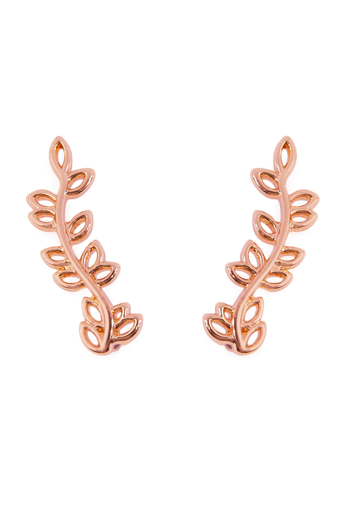 Leaf Crawler Earrings