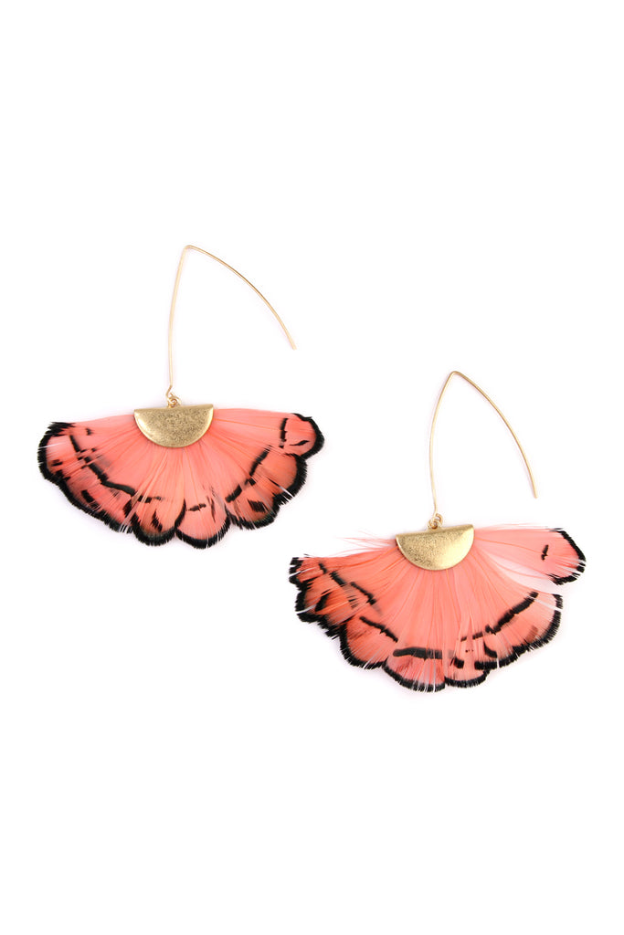Butterfly Wings Threader Earrings