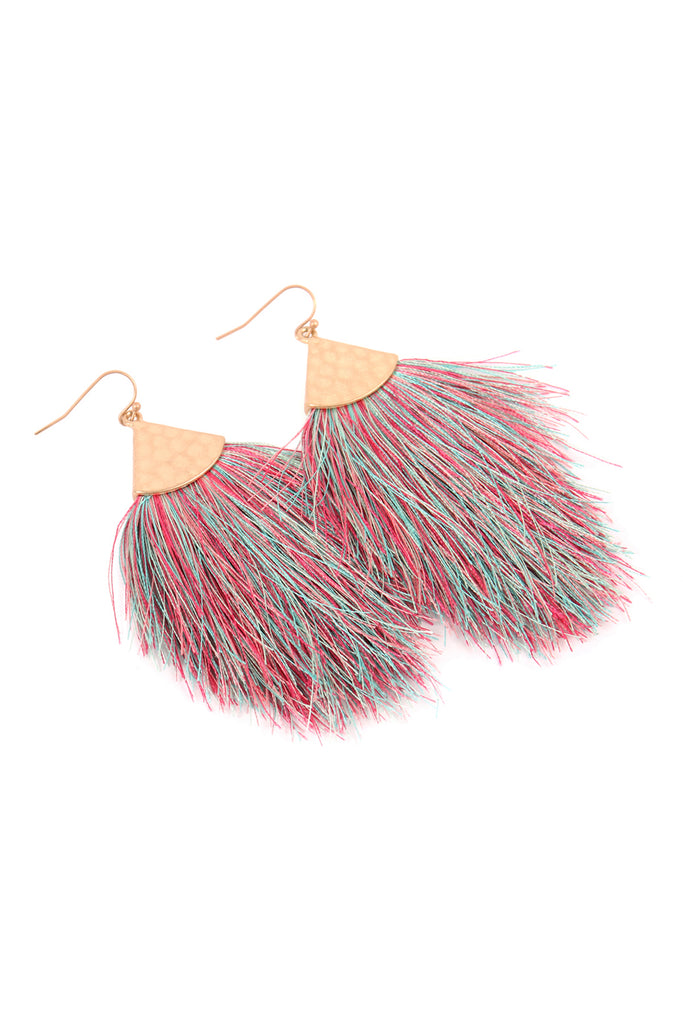 Oversized Tassel Earrings