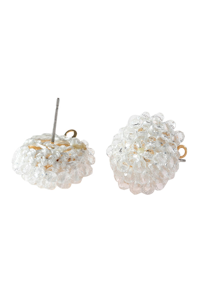 HDE2597  - RONDELLE POST EARRINGS