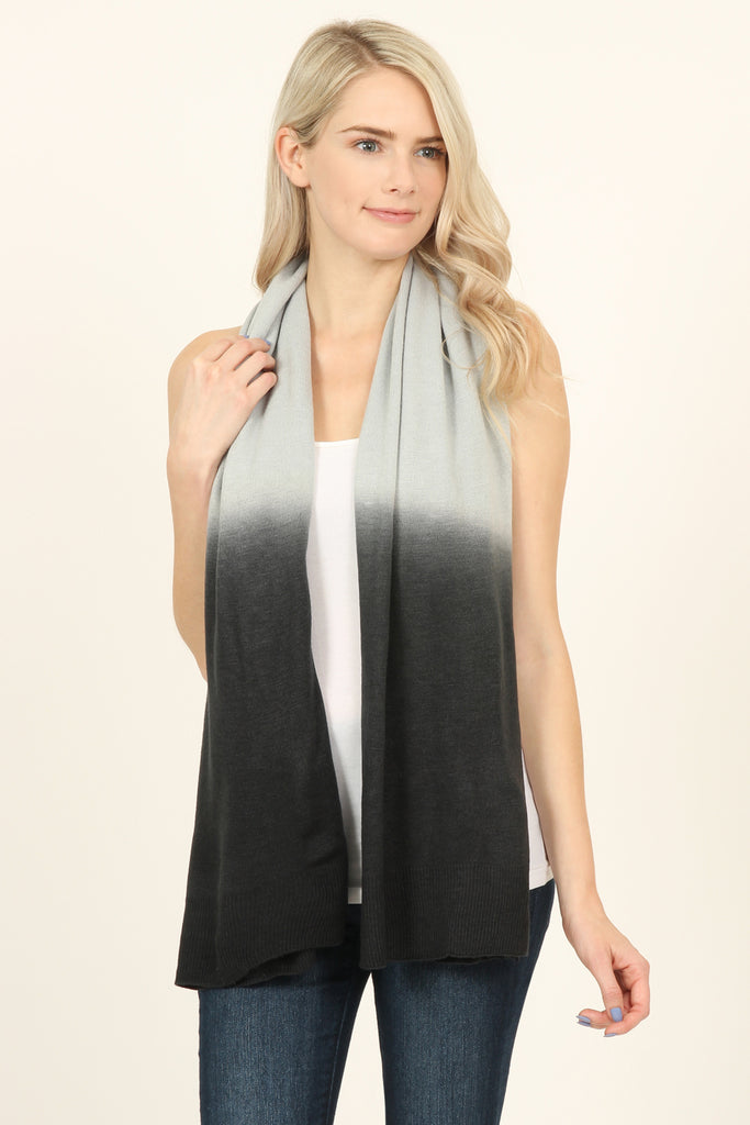 4-In-1 Soft Ombré Button Cardigan - Riah Fashion