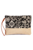 Paisley Print Cosmetic Bag