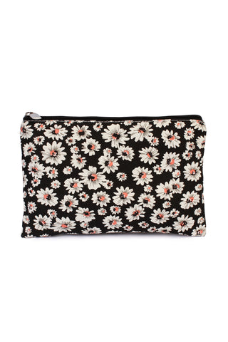 Statement Wristlet Cosmetic Bags