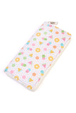 HDG2013 - FRUIT POPSICLE PRINT SINGLE ZIPPER WALLET