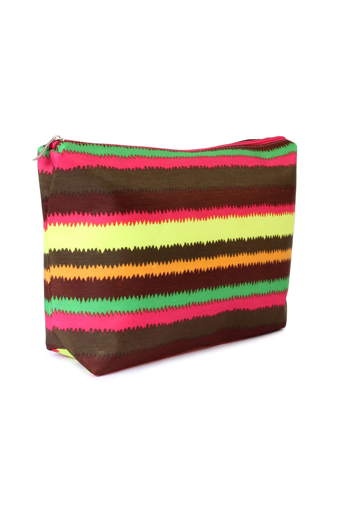 Colorful Shoulder Bag and Pouch Set