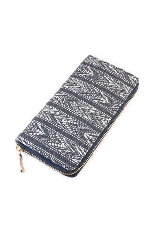 Faith Move Mountain Print Wallet