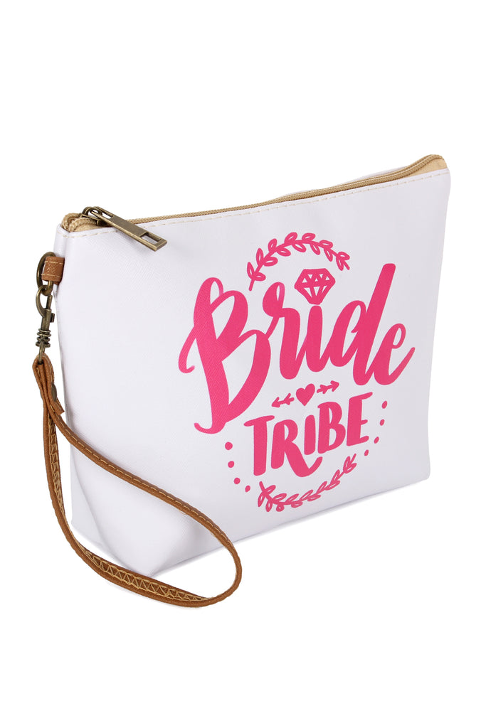 """Bride Tribe"" Cosmetic Bag"