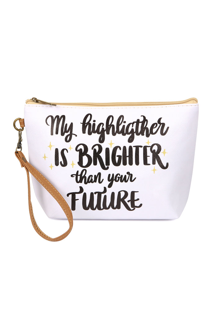 """My Highlighter"" Cosmetic Bag"