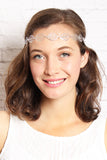 Etched Leaf Headband