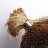 Curved Leaf Ornate Hair Tie