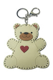 Teddy Bear Coin Purse Keychain
