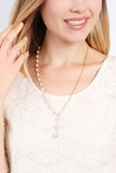 Pearl Split Necklace