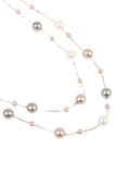 Cream Multi Pearl Necklace