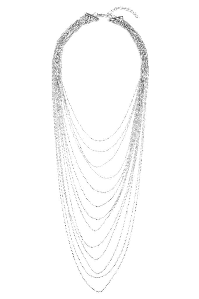 Brass Metal 13-Layer Necklace