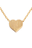 HDNB2N376 - HEART CAST PENDANT NECKLACE