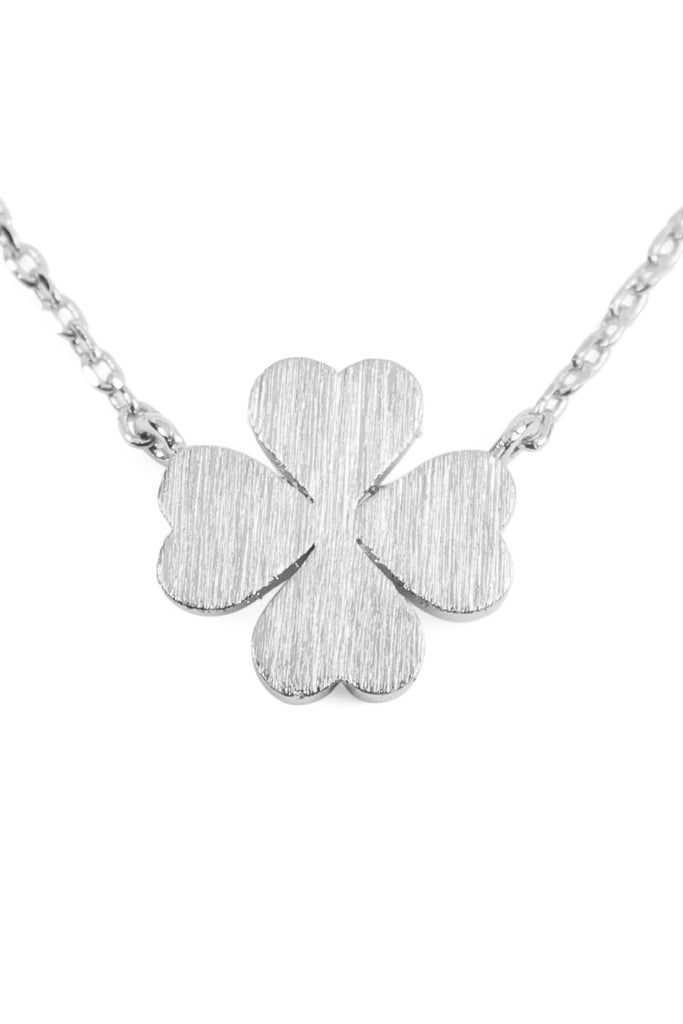 Clover Cast Pendant Necklace