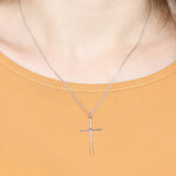 HDND1N61 - CROSS PENDANT NECKLACE