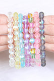 Chic Colored Mermaid Glass Stretch Bracelet