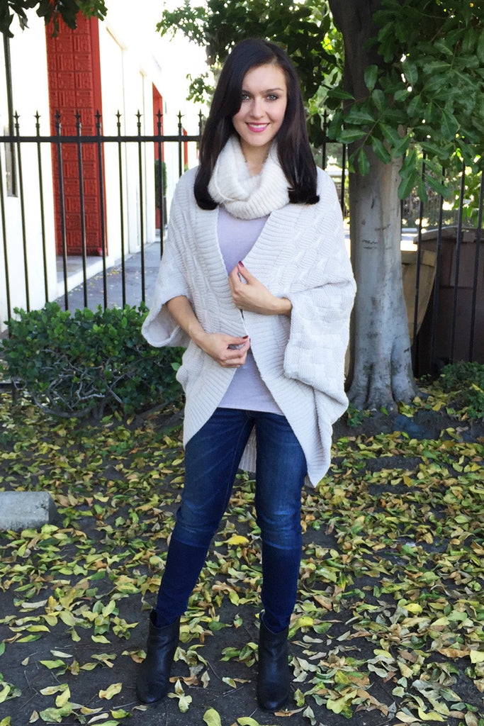 Open Front High-Low Cardigan - 4 Colors
