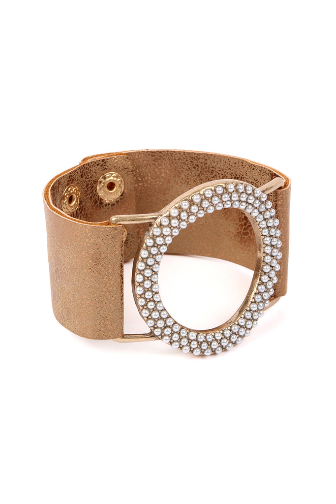 Trendy Wide Cuff Wristband